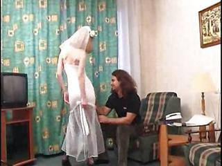 Rusian Bride In Pantyhose