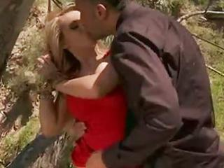 Madison Ivy Hot Honey Doing A Irrumation-service In Tthat Guy Forest