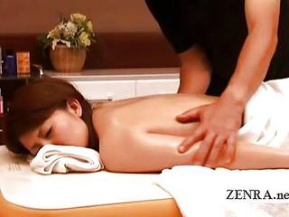 Japanese Milf Sensual Nude Oil Massage