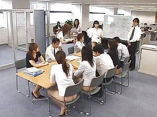 Asian Japanese Office Secretary Teen