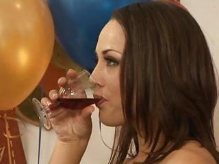 Secretary Kristina Rose Fucks After An Office Party