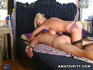 Busty Amateur Escort Sucks And Fucks