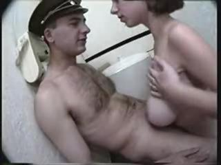 Amateur Army Big Tits Natural Russian Teen Toilet