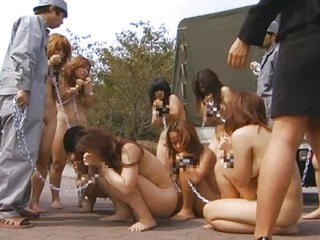 Nudist Bdsm Japanese Slaves Arrive At one's disposal Irregular Put apart