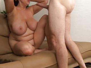 Fucking Her Mom Boobs And Her Pussy