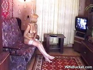 Russian Milf Homemade Fuck 1
