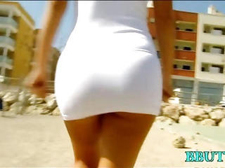 Amazing Anal Ass Babe Hardcore Outdoor