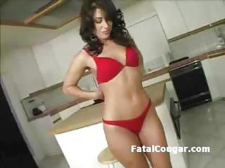 Kitchen Lingerie  Pov Stripper