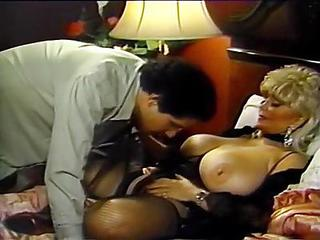 Amazing Big Tits  Pornstar Stockings Vintage