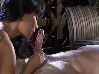 Asian  Blowjob Massage
