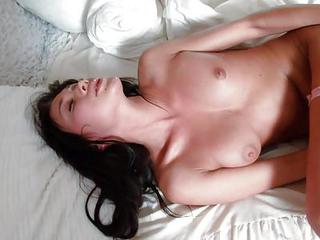 Black Haired Teen Kimberly In Wh...