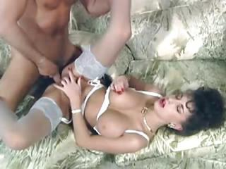 Babe Big Tits Brunette Cute Hardcore Natural Stockings Vintage