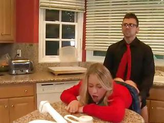 Schoolgirl In Red Casi James Enj...