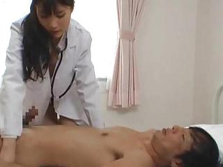 Asian Babe Doctor Japanese Uniform