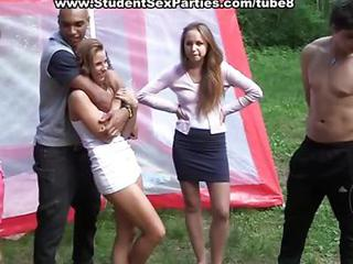 Outdoor Party Student Teen
