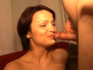 Very Hot Milf Swallows His Load !