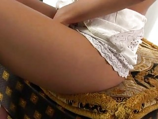 Virgin goddess shows slut