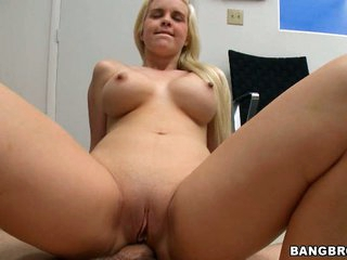 First timer Whitney Taylor gets a huge cock up ass