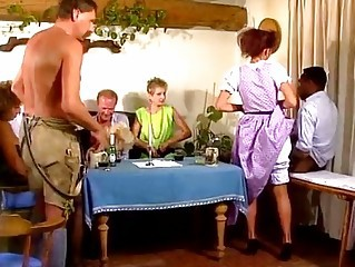 European German Groupsex Orgy Vintage