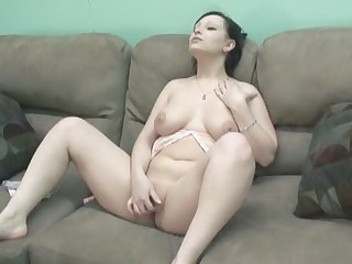 Amateur Chubby Cute Masturbating Natural Teen