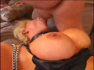 Big Tits Blonde Blowjob Fetish  Silicone Tits
