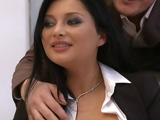 Anna Polina Threesome