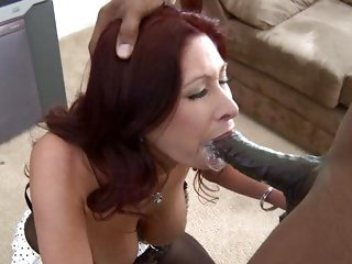 Tiffany Mynx takes a massive cock down her throat