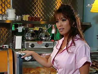 Amazing Asian Cute Kitchen Lesbian
