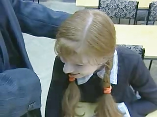 Pigtail Russian School Teen Uniform