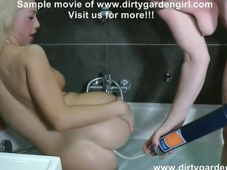 Isabella Clark  Dirtygardengirl Drink Enema And Lick Ass
