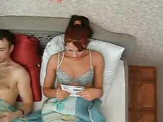 Amateur Redhead Russian Teen Wife