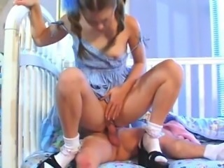 Rough teen use - midget sex