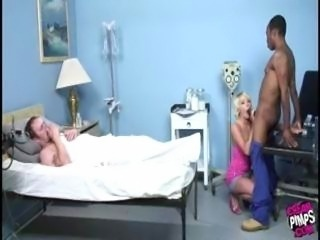 Blowjob Cuckold Doctor Interracial