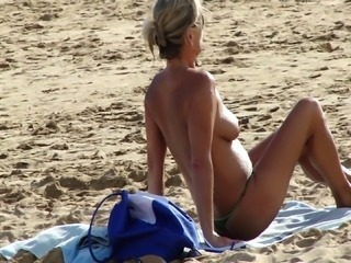 Beach Mature Outdoor Voyeur