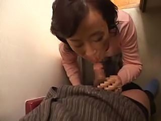 Asian Blowjob Clothed Japanese Mature