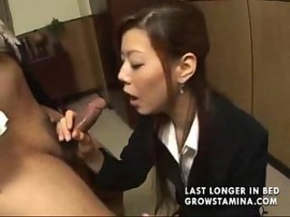 Asian Blowjob Japanese  Secretary Small cock