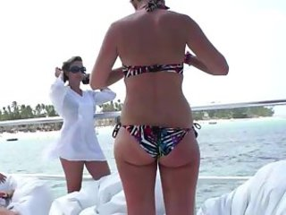 Amateur Ass Beach Bikini  Outdoor