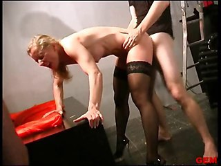 Doggystyle European Gangbang German Hardcore  Stockings