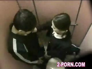 schoolgirl fuck with amateur man in washroom 001
