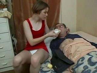 Daddy Daughter Funny Old and Young Teen