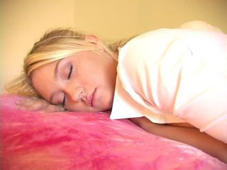 Blonde Sleeping Teen