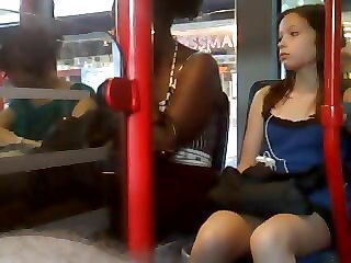 "German Public Upskirt Voyeur Different  Bus Stop Girls 4"" target=""_blank"