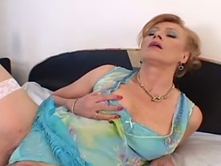 Older Woman Having Sex