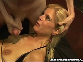 British Bukkake Cumshot European Gangbang Mature Party