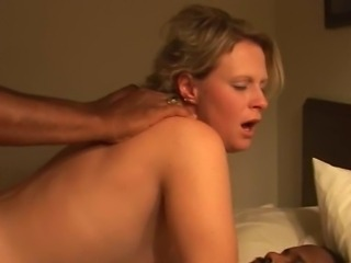Amateur Interracial  Threesome Wife