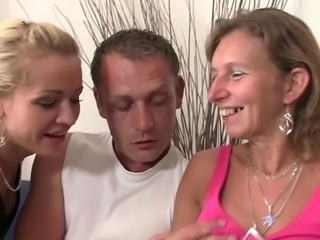 He has sex mother inside law and housewife watches it