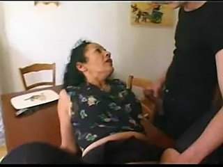French mature maid satisfies   boys Rayra