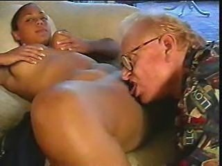 Ebony Interracial Licking Old and Young Teen