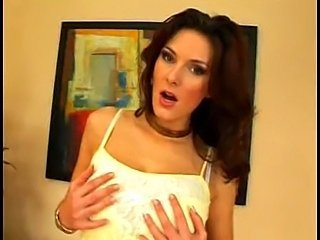 pissing and masturbation of czech busty pornstar
