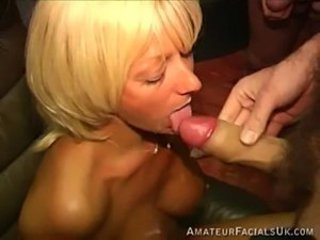Amateur Blonde Blowjob British European